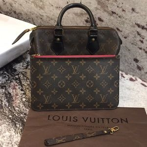 LOUIS VUITTON Authentic Neverfull Clutch Monogram
